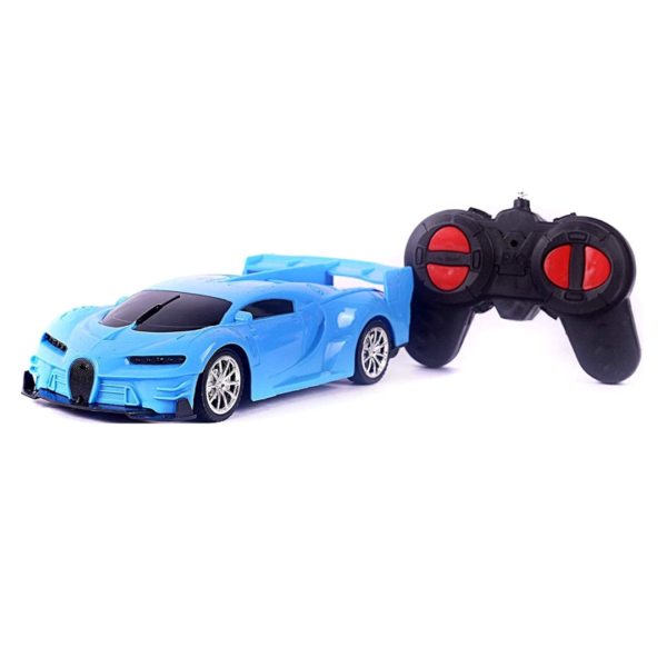 funkey™4 function remote car can go forward backward left right racing sports car, remote car for kids ( Multi colors ) battery not included ]