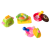 Pretend Play Kitchen Set Food Toy Cooking Set with Doll 2