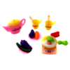 Pretend Play Kitchen Set Food Toy Cooking Set with Doll 3