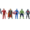 Super Hero Action Figure New Super Heroes Toys Set - Action Figure Toys Set of 5